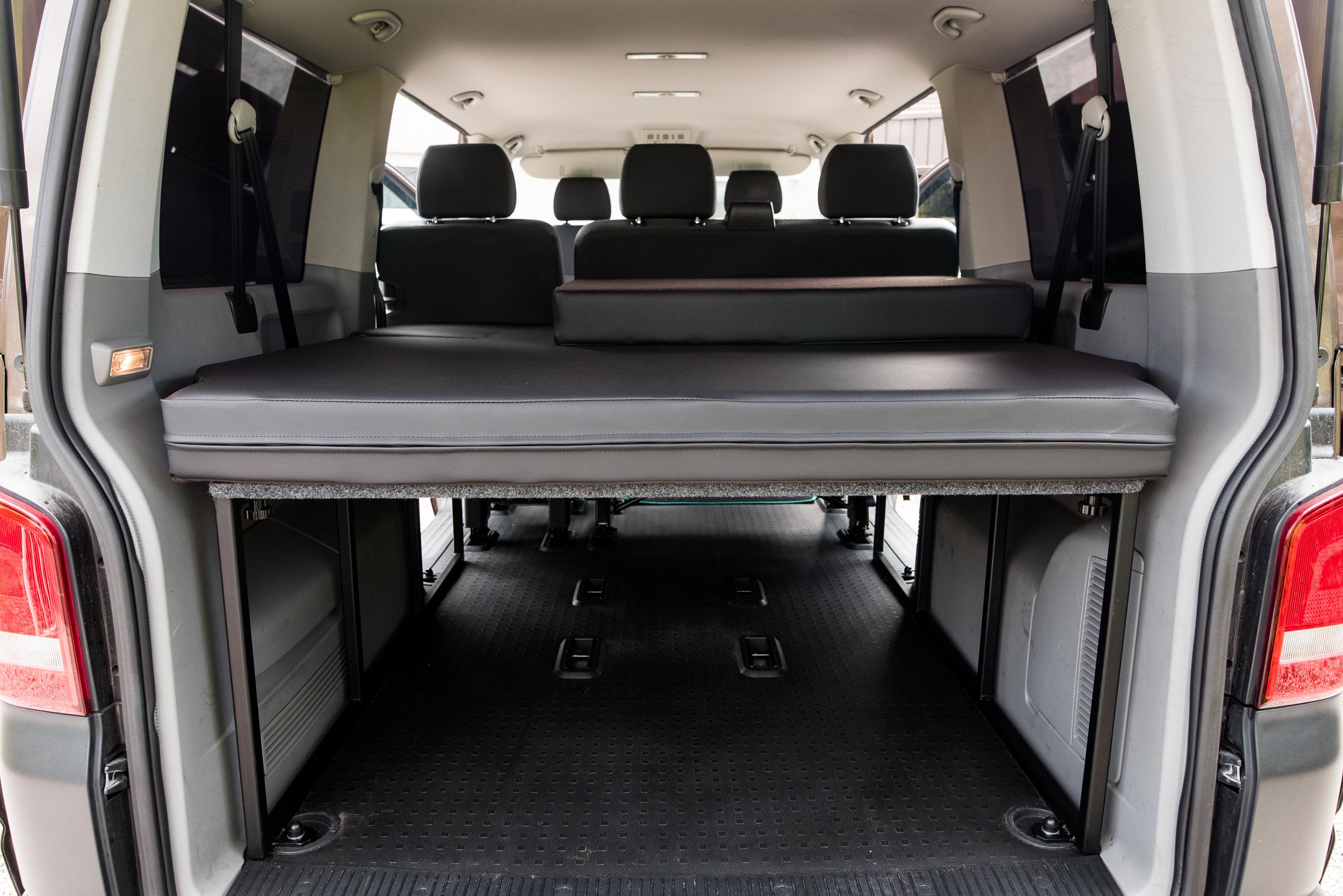 Van King Volkswagen T5 T6 Kombi Shuttle Bed System